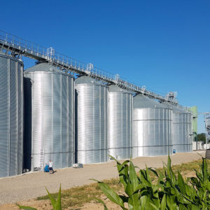 Drying and storage project in France