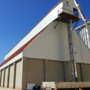 Handling project grain Algeria
